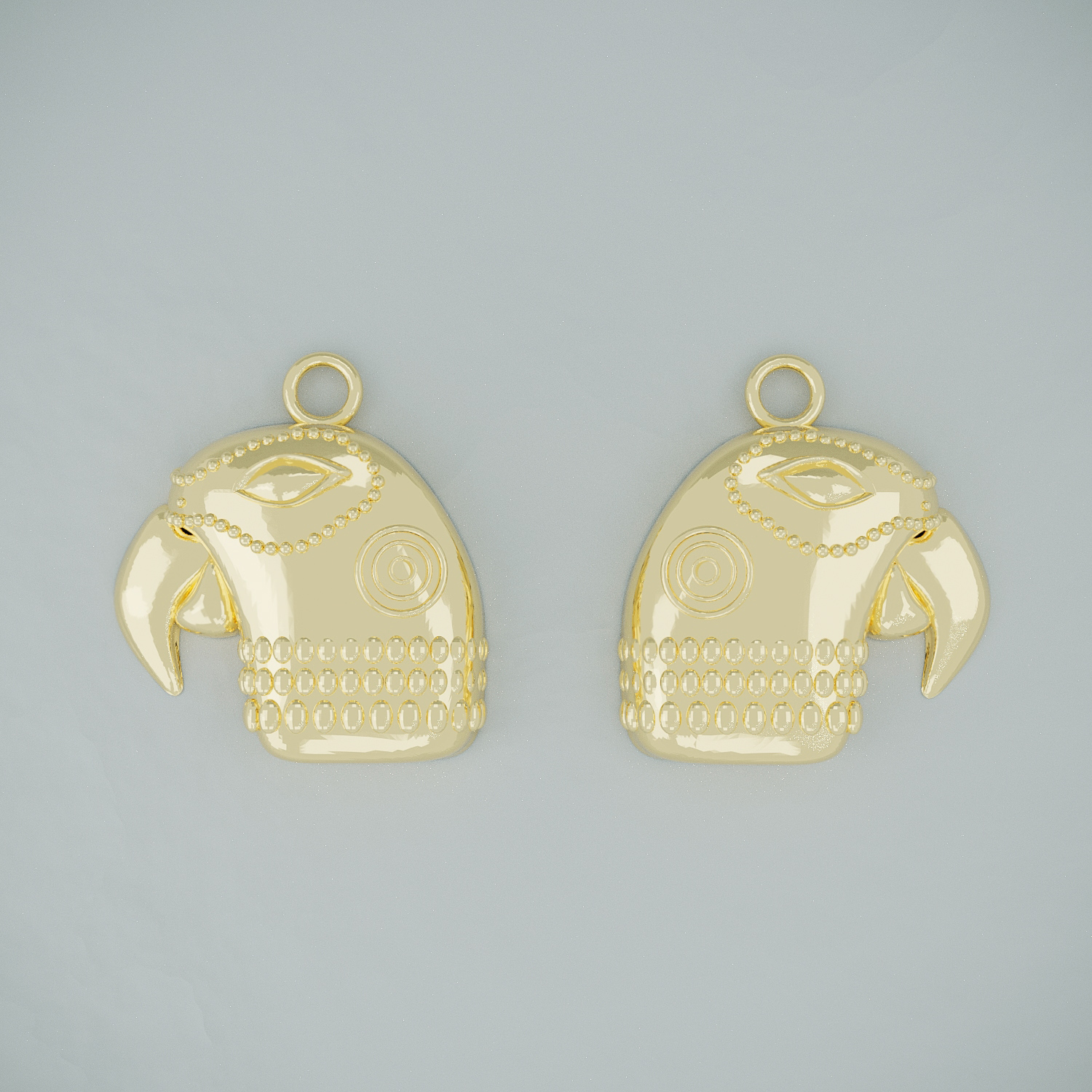Anona Parrot - Earrings